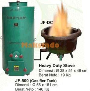 Kompor Gas Biomas (Gasifier  Stove) 4