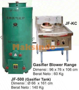 Kompor Gas Biomas (Gasifier  Stove) 5