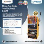 Jual Mesin Cup Sealer Semi Otomatis di Palembang