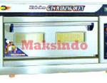 Jual Mesin Oven Roti Gas 1 Loyang (MKS-RS11) di Palembang