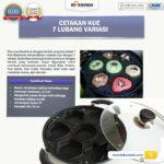 Cetakan Kue 7 Lubang Variasi Di Palembang