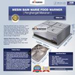 Mesin Bain Marie Penghangat Makanan (EBM Type) di Palembang