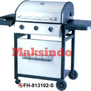 Jual Mesin Barbeku Gas Barbeque With Side Burner di Palembang