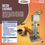 Jual Mesin Pencetak Churros (Spanyol) di Palembang
