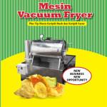Jual Mesin Vacuum Frying Kapasitas 10 Kg di Palembang