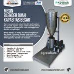 Jual Mesin Blender Buah Kapasitas Besar di Palembang