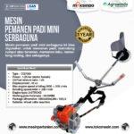 Jual Mesin Pemanen Padi Mini Serbaguna di Palembang
