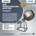 Jual Mesin Pengaduk Bumbu (Hexagonal) di Palembang