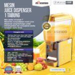 Jual Mesin Juice Dispenser 1 Tabung 15 Liter – DSP-15×1 di Palembang