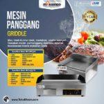 Jual Mesin Pemanggang Griddle (Gas) – EEG818 di Palembang