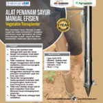 Jual Alat Penanam Sayur (Vegetable Transplanter) Stainless di Palembang