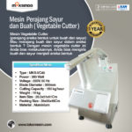 Jual Mesin Vegetable Cutter – MKS-VC45 di Palembang