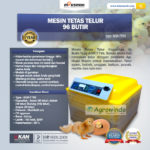 Jual Mesin Penetas Telur 96 Butir Otomatis – AGR-TT96 di Palembang