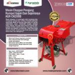 Jual Mesin Chopper Perajang Rumput-Ranting -AGR-CH200B di Palembang