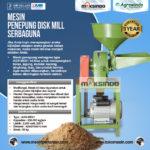 Jual Mesin Penepung Disk Mill Serbaguna (AGR-MD17 dan AGR-MD21) di Palembang