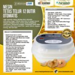 Jual Mesin Tetas Telur 12 Butir Otomatis – AGR-TT12 di Palembang