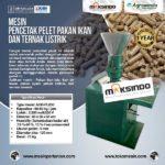 Jual Mesin Cetak Pelet Pakan Ikan dan Ternak Listrik – AGR-PL220 di Palembang