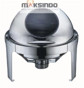 Chafing-Dish-Bentuk-Bulat-Round-Roll-6-Liter-1-maksindo