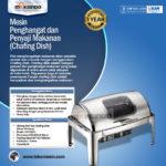 Jual Chafing Dish Oblong Roll Top – 9 Liter – MKSPM23 di Palembang