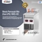 Jual Mesin Pemasak Mie (Gas LPG) di Palembang