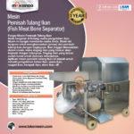 Jual Mesin Pemisah Tulang Ikan (Fish Meat Bone Separator) di Palembang