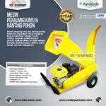 Jual Mesin Perajang Kayu dan Ranting Pohon – AGR-CP15 di Palembang