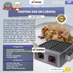 Jual Mesin Takoyaki Gas (56 Lubang) di Palembang