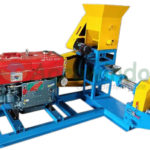 Jual Mesin Pencetak Pelet Ikan Terapung (Diesel) di Palembang