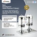Jual Juice Dispenser / Buffet Dispenser 2 Tabung di Palembang