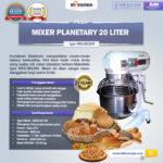 Jual Mesin Mixer Planetary 20 Liter NEW High Quality (MKS-BK20M) di Palembang
