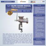 Jual Alat Giling Daging Manual di Palembang