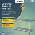 Jual Meja Kerja Stainless (WTS-180) di Palembang