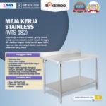 Jual Meja Kerja Stainless (WTS-182) di Palembang