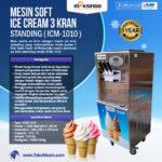Jual Mesin Es Krim 3 Kran Standing ICM-1010 di Pelembang
