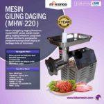 Jual Mesin Giling Daging MHW-220 di Palembang