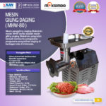 Jual Mesin Giling Daging MHW-80 di Palembang