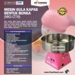 Jual Mesin Gula Kapas Bentuk Bunga (MKS-CT76) di Palembang