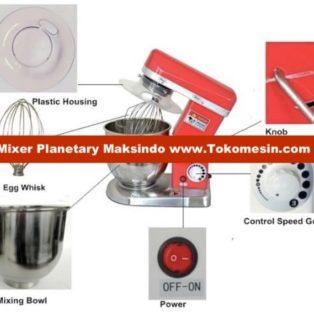 Jual Mesin Mixer Planetary 5 Liter (MPL-5) di Palembang