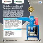 Jual Mesin Penepung Serbaguna (Disk Mill) Type AGR-MD17 di Palembang