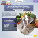 Jual Mesin Vegetable Cutter (MKS-VG23B) di Palembang