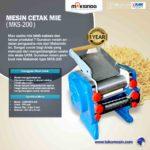 Jual Mesin Cetak Mie (MKS-200) di Palembang