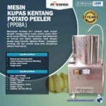Jual Mesin Kupas Kentang Potato Peeler (PP08A) di Palembang