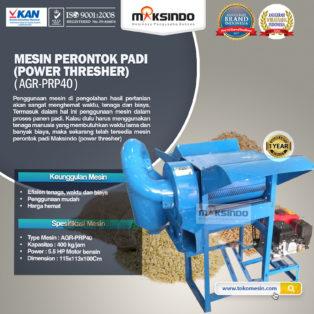 Jual Mesin Perontok Padi (power thresher) di Palembang