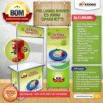 Paket Usaha Es Krim Spaghetti Program BOM