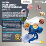 Jual Meat Slicer Pengiris Daging – MKS-70 di Palembang