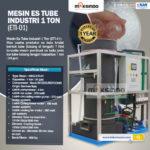 Jual Mesin Es Tube Industri 1 Ton (ETI-01) di Palembang
