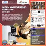 Jual Mesin Kopi Espresso Semi Auto – MKP50 di Palembang