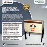 Jual Mesin Penetas Telur Manual 50 Butir (EM-50) di Palembang