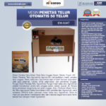Jual Mesin Penetas Telur Otomatis 50 Telur (EM-50AT) di Palembang