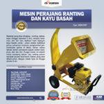 Jual Mesin Perajang Kayu dan Ranting – CP07 di Palembang